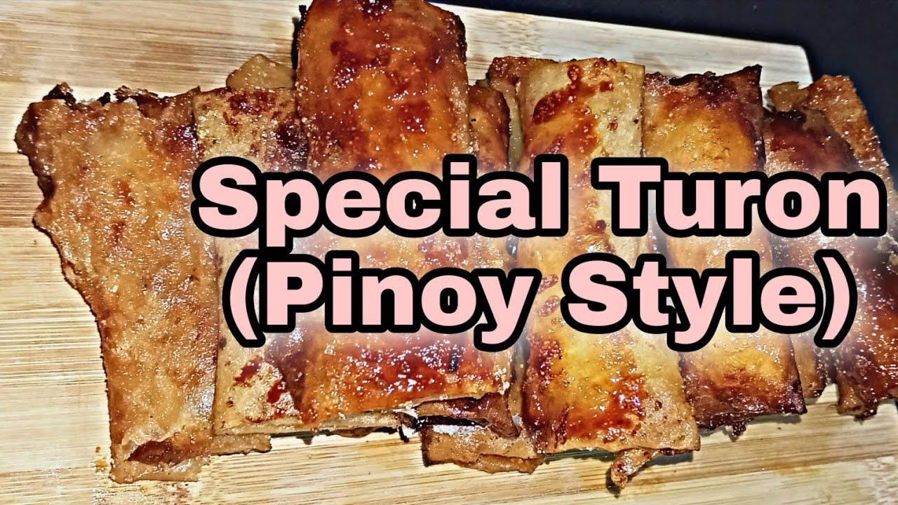 Special Turon ( Pinoy Style) | Pwedeng Pang Negosyo | Sobrang Sarap 😋 #SweetJoyDesserts