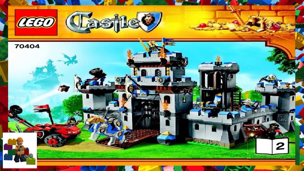 Lego Instructions Castle 70404 Kings Castle Book 2 Youtube