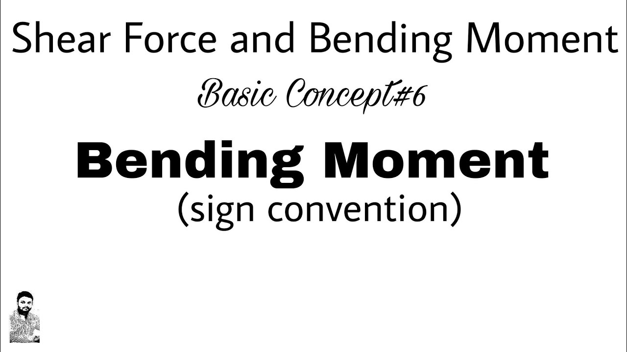 6 Shear Force And Bending Moment Bm Sign Convention Youtube Calculating Moments Drawing A Diagram Video