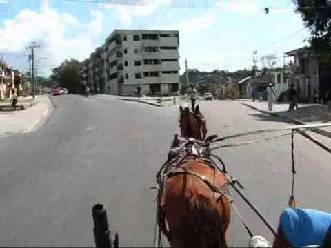 Cuba Travel: Riding through Santiago's Port Area