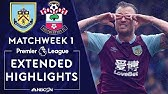 Burnley v. SouthamptonPREMIER LEAGUE HIGHLIGHTS8/10/19NBC Sports