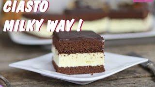 Ciasto Milky Way przepis od Deserek.TV