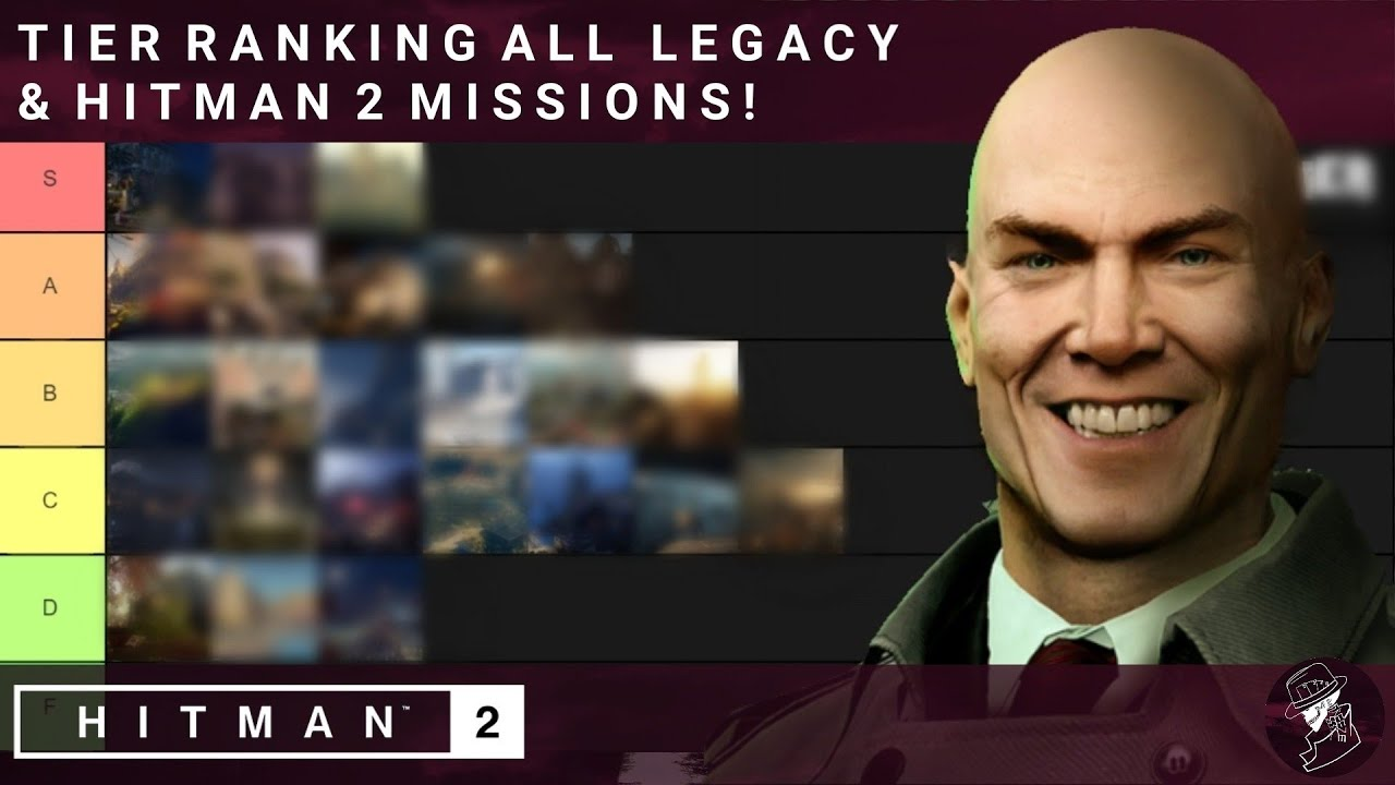 Hitman 2 Tier Ranking All Maps In Legacy Hitman 2 Youtube