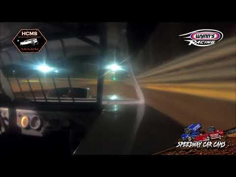 Winner #29 Donavan Jackson - 7-20-19 Halifax County Motor Speedway - In-Car Camera