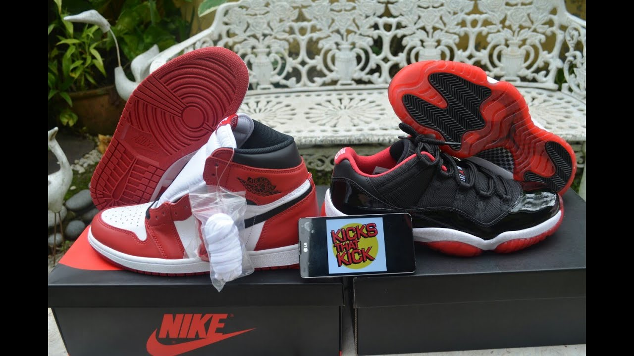 air jordan 1 low bred 2015 videos