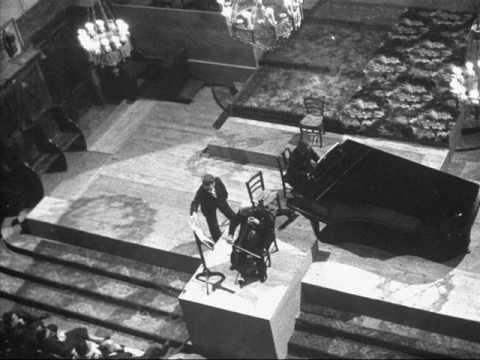 Pablo Casals: Bach Gamba Sonata No. 2 - 1st & 2nd mvts.