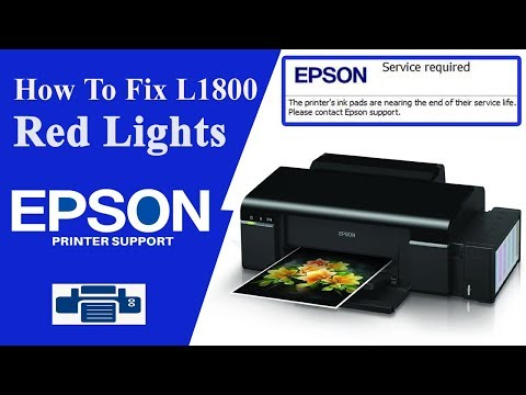 Epson L1800 Resetter Service Required