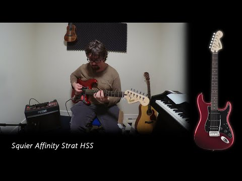 Squier Affinity Strat HSS Review