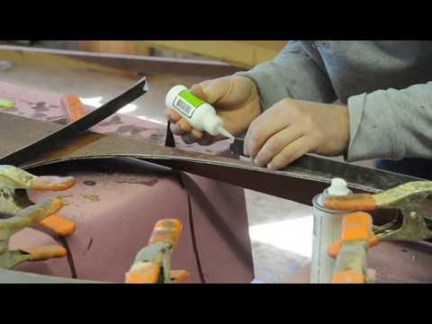 Stitch and Glue Night Heron Kayak - Making the Coaming