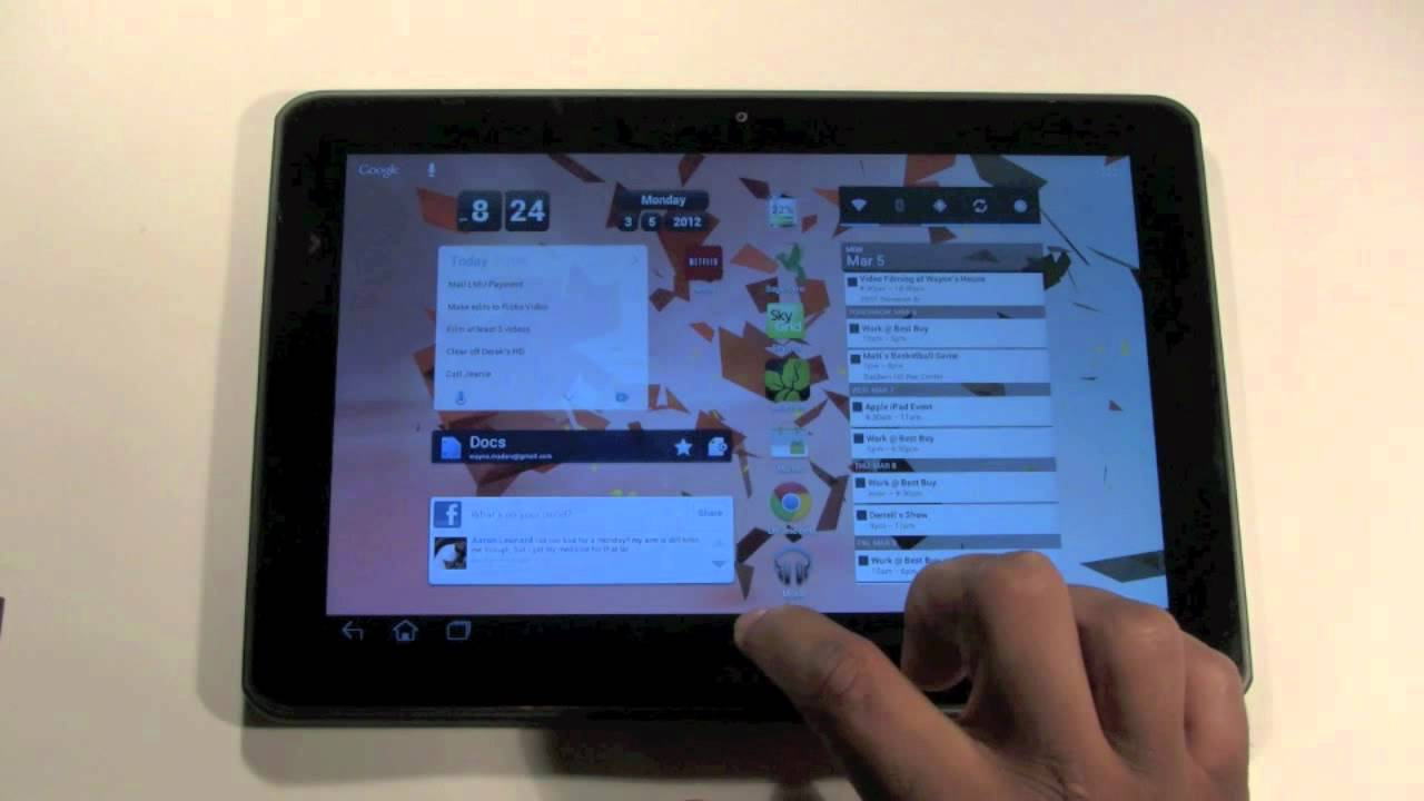 acer iconia a200 how to customize it h2techvideos youtube rh youtube com Acer Iconia Tablet Acer Iconia Case