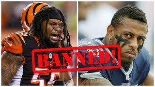 10 NFL Players That Deserve A Lifetime Ban For Stupidity