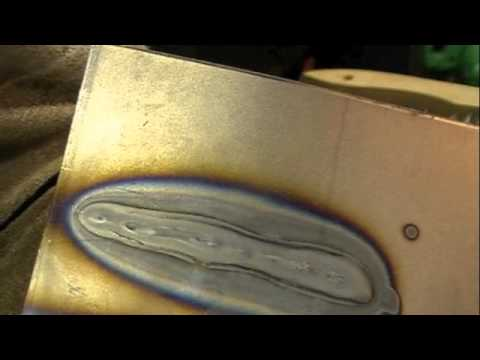 Harbor Freight Sheet Metal Weld Mig 171 Update Youtube