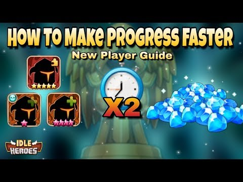 Idle Heroes(O) - How To Make Progress Faster - Ultimate Guide For