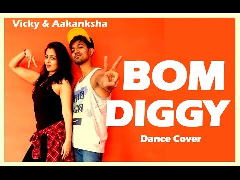 Bom Diggy Diggy Dance| Zack Knight x Jasmin Walia| Vicky and Aakanksha