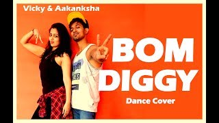Bom Diggy Dance choreography  | Zack Knight x Jasmin Walia  | Vicky and Aakanksha