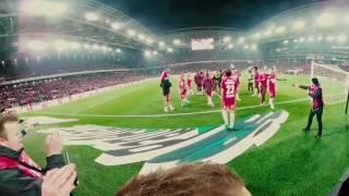 Спартак-Зенит! Фильм в формате 360! Посмотри футбольный матч от первого лица!