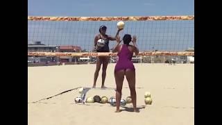 Fnoimoana 6'4 Beach Volleyball Player women Volley ball Training Vacation Not African/Amazonian