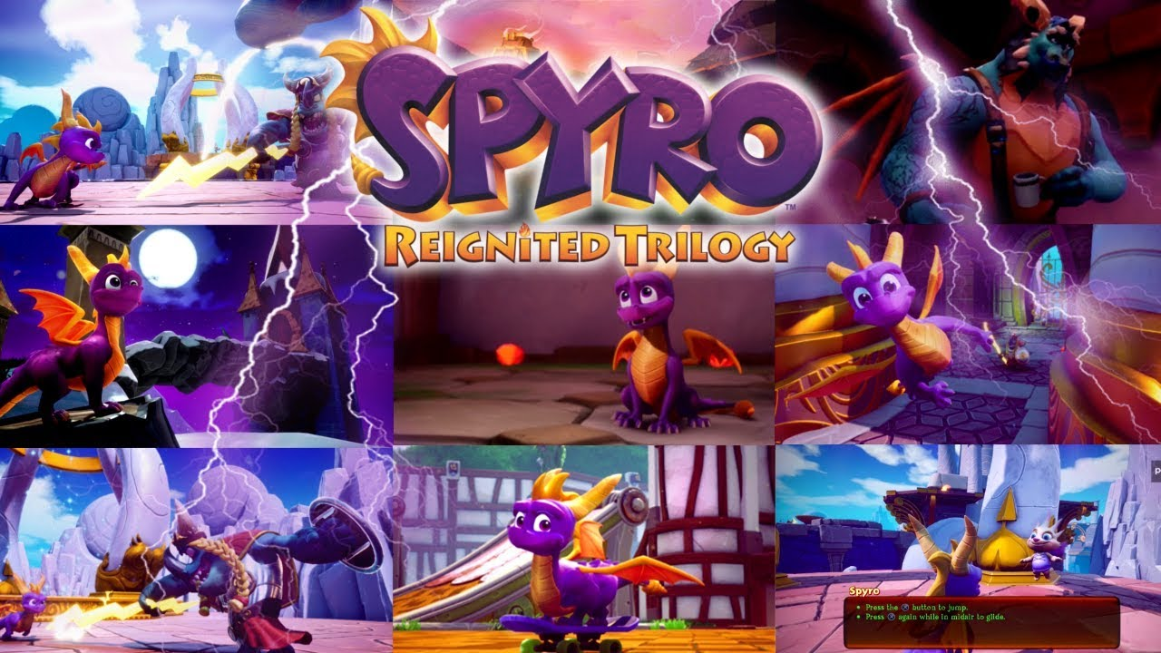 Spyro Reignited Trilogy - 40+ Things We Could Gather From Gamescom 2018 b3db6b11a2