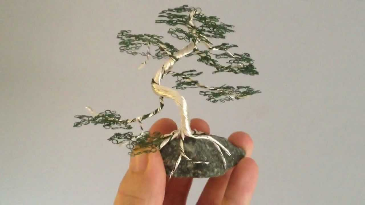 bonsai wire tree youtube rh youtube com Pre Bonsai Seedlings Pre Bonsai Seedlings