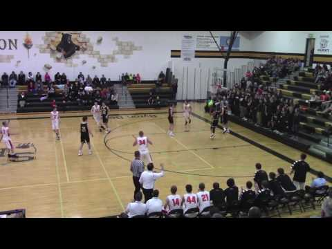 Marc Kjos Lake City Basketball 2016-17 Highlights Junior Year
