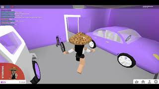 ROBLOX BLOXBURG   FIRST VIDEO!!!   MY HOUSE/CAFE TOUR!!!