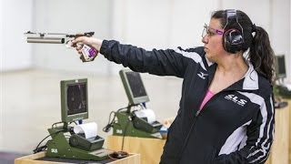 10m Air Pistol Women Highlights -­ ISSF Rifle and Pistol World Cup 2014, Fost Benning (USA)