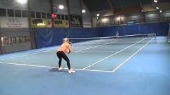 Monica Malinen College Tennis Recruiting Video - Spring 2017