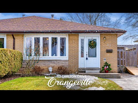 12 Carlton Dr, Orangeville, Ontario (Unbranded)