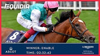 Vidéo de la course PMU THE KING GEORGE VI AND QUEEN ELIZABETH STAKES