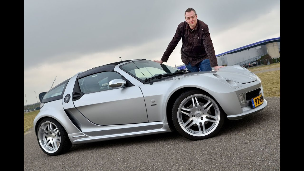 Op De Rollenbank Smart Roadster Brabus Youtube