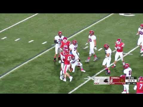 Highlights: Cornell Sprint Football Vs Mansfield - 10/18/19