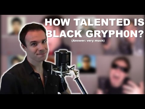 How Does Black Gryph0n's Voice Compare To The Celebrities? (One guy, 45 voices)
