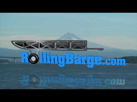Rolling Barge Overview - Floating Dock Kits, Trail Bridge Kits, Party Barges