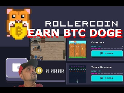 Rollercoin a new way to mine BTC Doge ETH RLT or USDT