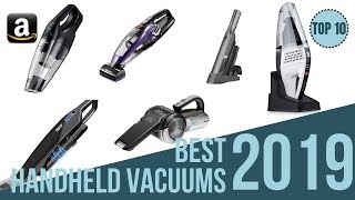 Top 10: Best Affordable Handheld Vacuum Cleaners in 2019 / Which Handheld Vacuum Is Better?