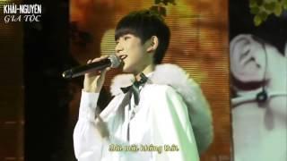 [Vietsub Live] 151108 TFBOYS Vương Nguyên (Wang Yuan – 王源) – My Sunshine @ Roy