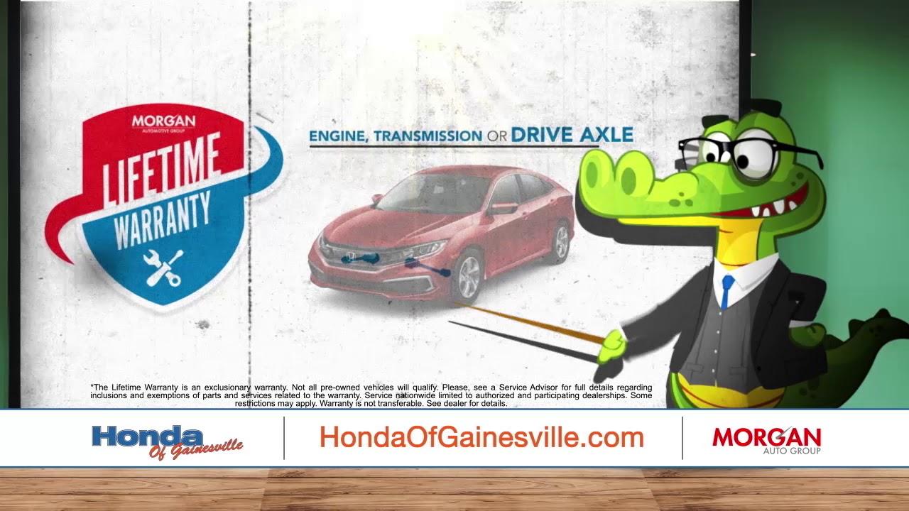 Honda Of Gainesville Lifetime Warranty | Gainesville, FL