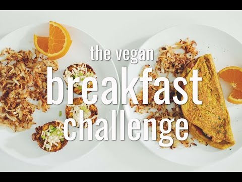 THE VEGAN BREAKFAST CHALLENGE | hot for food