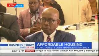 Principal Secretary Charles Hinga woos private sector to tap into the housing agenda