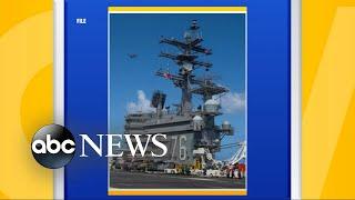 US Navy aircraft crashes into sea near Japan