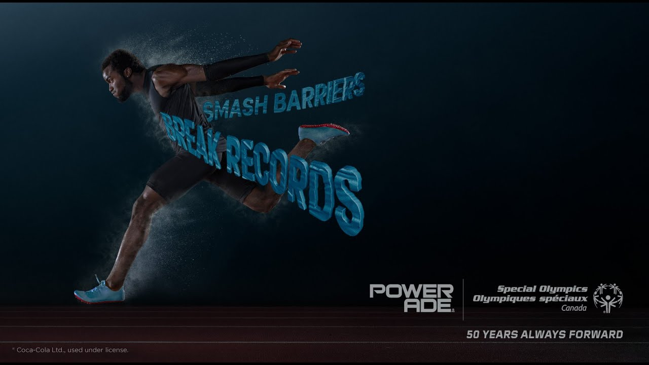 Here's to 50 years of always forward with Powerade.