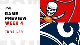 Tampa Bay Buccaneers vs. Los Angeles Rams Week 4 NFL Game Preview