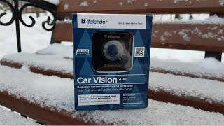 Распаковываем Видеорегистратор Defender Car vision 2030