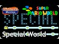 Super Mario World - World 9: Special World & Top Secret Area (Multiplayer Walkthrough,  All Exits)