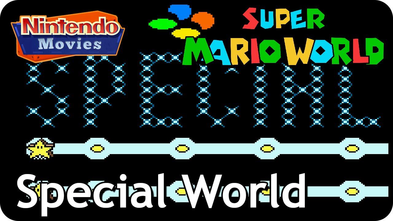 Super Mario World - World 9: Special World & Top Secret Area (Multiplayer  Walkthrough, All Exits)