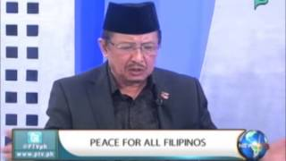 NewsLife Interview: Datu Abulkayr Alonto, Chairman MNLF - 'Peace for all Filipinos'