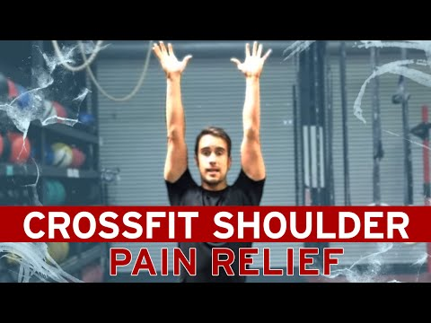 SHOULDER Pain Relief and Mobility Fix for Crossfit / Weightlifting