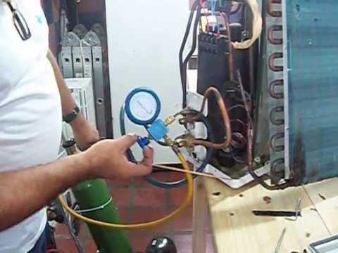 Aire acondicionado split como probar con nitrogeno youtube for Temperatura de salida de aire acondicionado split