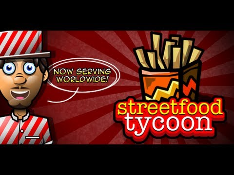 Street food Tycoon for iPhone, iPod and iPad: Manage your own Food cart selling street food