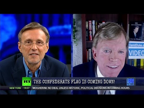 David Duke vs. Thom Hartmann: The Confederate Flag